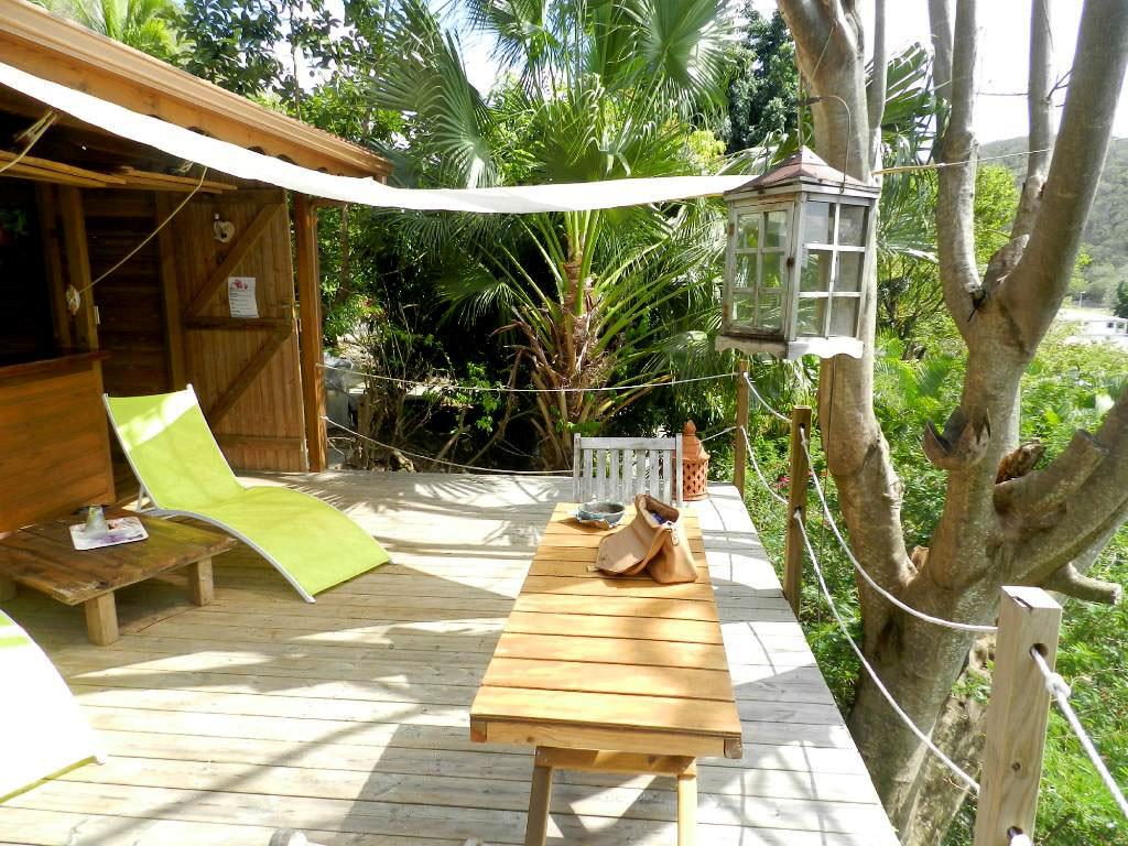 Location g te et cabane sur deshaies guadeloupe ali na s - Chambre d hote dans les arbres ...